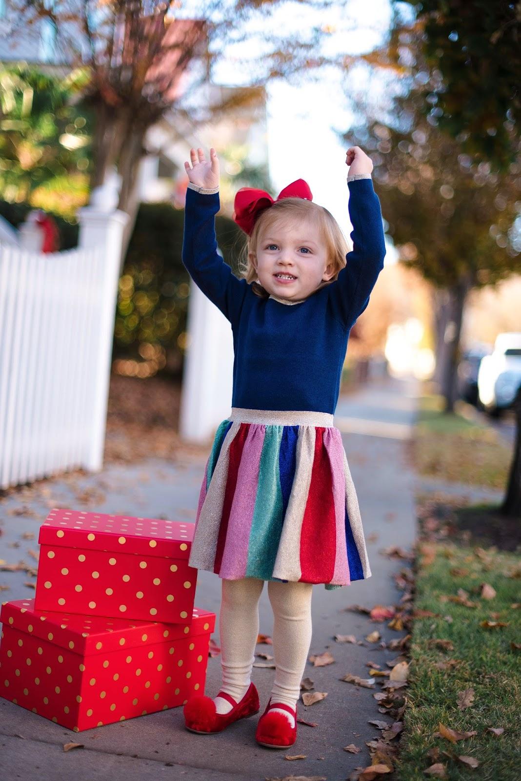 Toddler Holiday Style - Something Delightful Blog