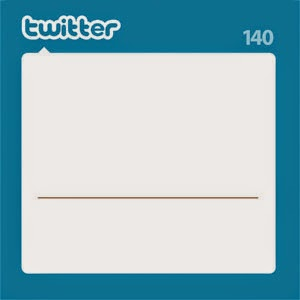 blank twitter page template