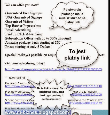 DonkeyMails.com GPTR - mail reklamowy