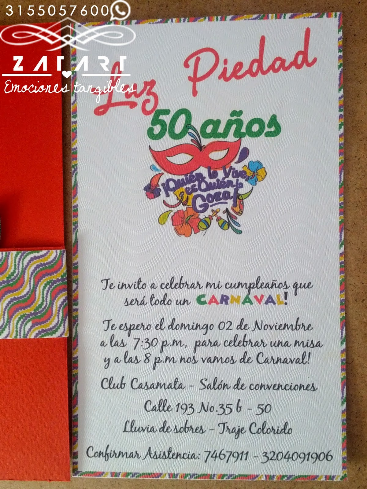 Frases Para Invitaciones 50 Anos Cumpleanos Centro De