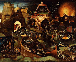Hieronymus Bosch depiction of hell.