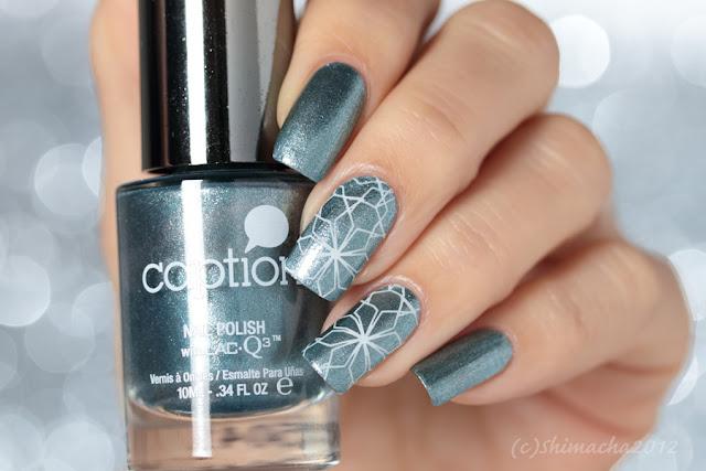 Caption Polish MONDAY'S THE NEW FRIDAY!, Art Screens Boho Bungalow, Stamping nail, Nail Stamping, スタンピングネイル, ネイルスタンプ