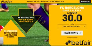 betfair supercuota liga Barcelona gana Huesca 2 septiembre