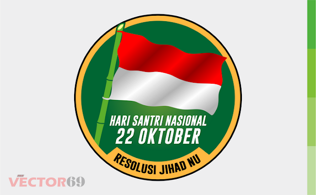 Logo Resolusi Jihad NU, Hari Santri Nasional - Download Vector File CDR (CorelDraw) X4