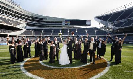 Fashionable Fairytales Chicago Bears Wedding Themes