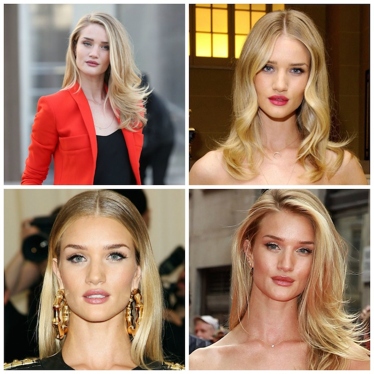 rosie huntington blonde