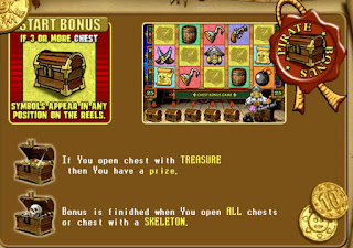 Pirate Slot bonus game