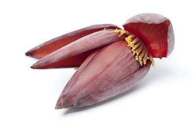 jantung pisang, kelebihan jantung pisang, resepi kerabu jantung pisang, cara buat kerabu jantung pisang, tips sihat