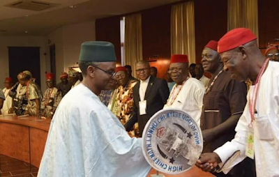 1a - Igbo Quit Notice: Kaduna state governor, Nasir El-Rufai meets Igbo leaders from 19 Northern states (photos)