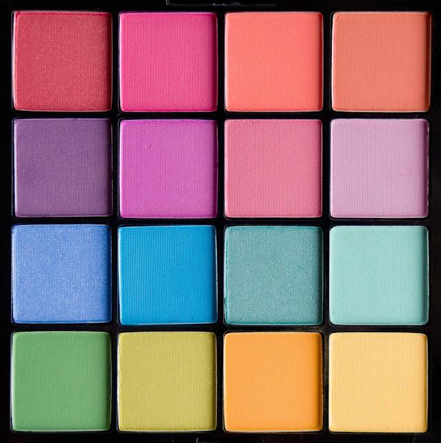 палетка_теней_NYX_Ultimate_Eyeshadow_Palette_Brights