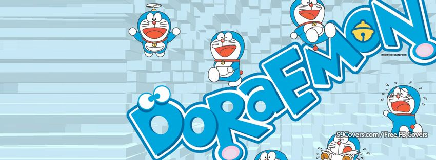 Ảnh bìa Doremon, ảnh bìa facebook Doremon dễ thương