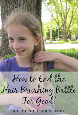 How to End the Hair Brushing Battle For Good