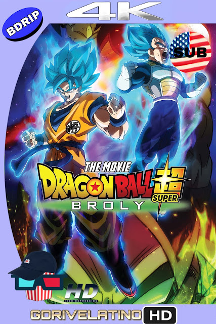Dragon Ball Super Broly 2018 Japones-Ingles SUBTITULADO 4K Bdrip HD MKV
