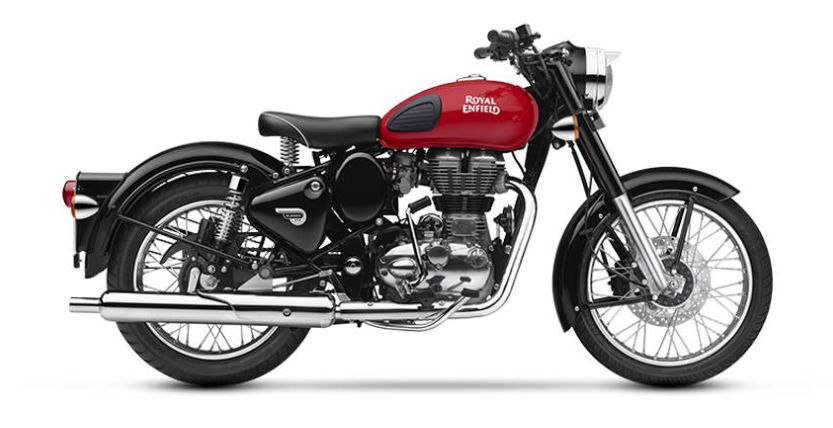 Royal Enfield Classic 350 Redditch ABS  at showroom price at Rs 1.52 l
