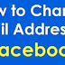 Can I Change My Facebook Email