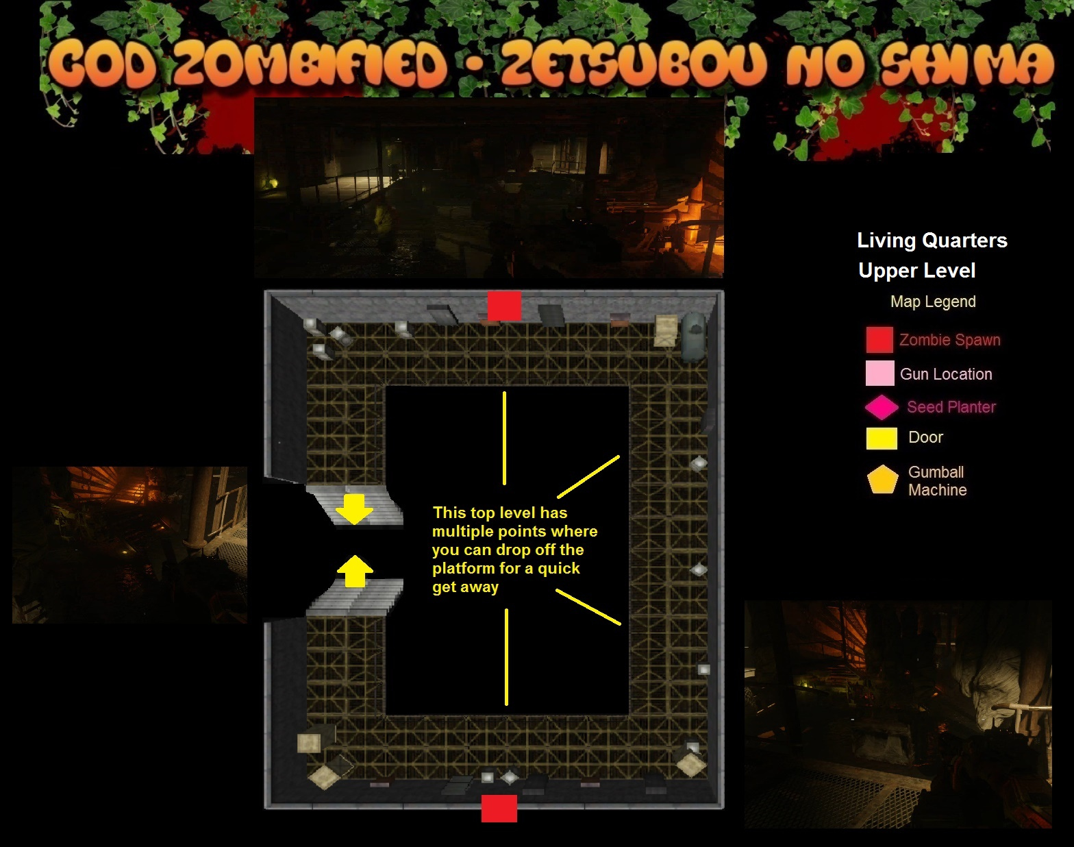 Zombified call of duty zombie map layouts secrets for Floor 5 map swordburst 2