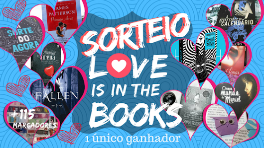 [Sorteio] Love is in the Books