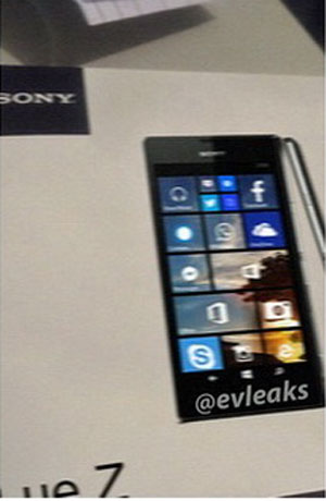 Sony Lue Z, Bakal Hadir Usung Windows Phone 8.1?