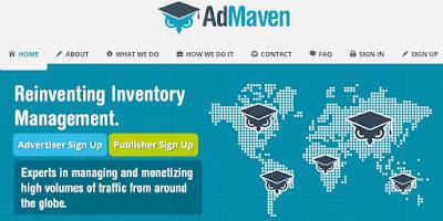 Cara Daftar dan Pasang Iklan Ad-Maven Ads