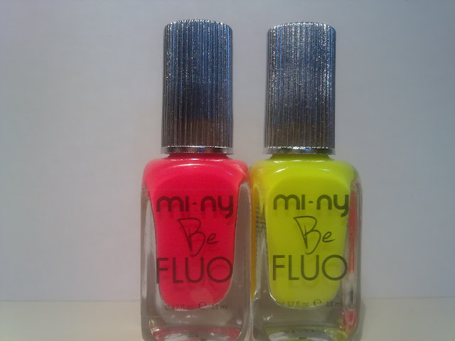 MI-NY BE FLUO - COLLECTION PINK E COLLECTION YELLOW