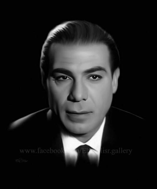 صور ورسومات بالرصاص ولوحات زيتية ل فريد شوقى