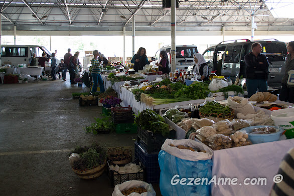Bodrum organik pazarı
