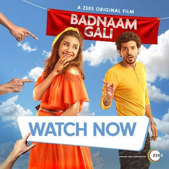Badnaam Gali 2019 Hindi 480p WEBRip 300MB