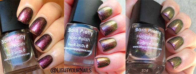 BornPrettyStore Chameleon nail polish 32#