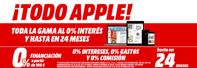 Top 5 ofertas folleto ¡Todo Apple! de Media Markt