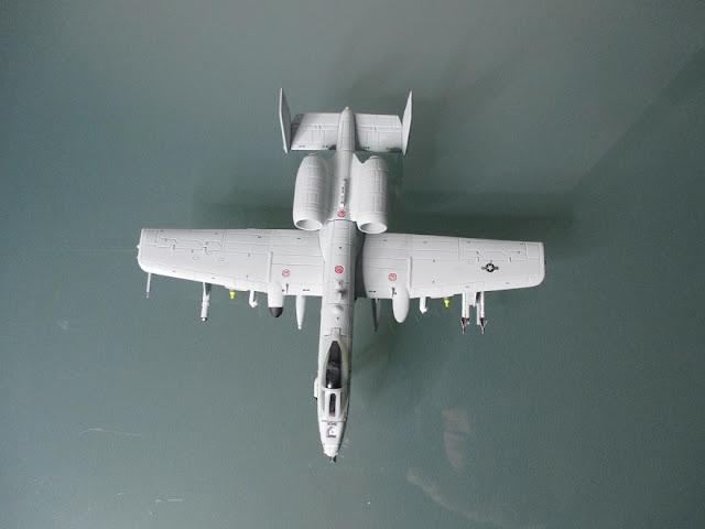 1/144 Fairchild A-10C Warthog diecast aircraft