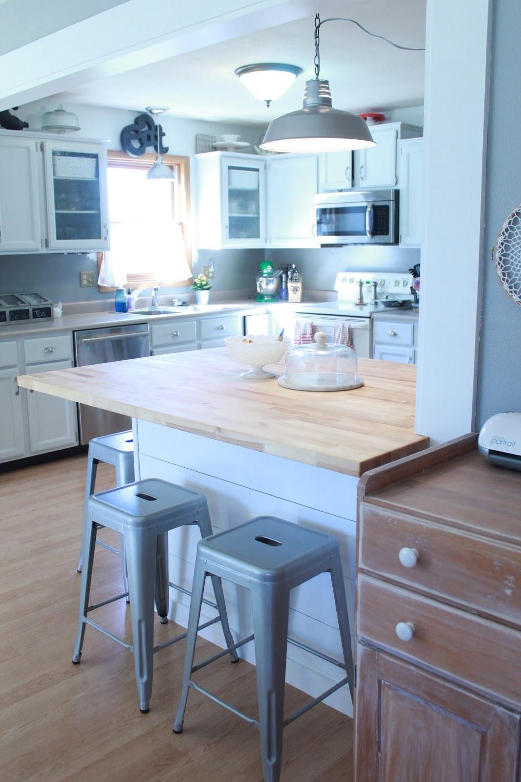 Making Our Nest: Kitchen island, take 2
