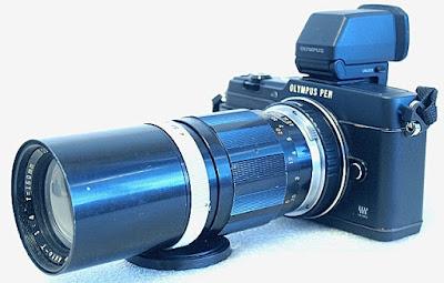 Olympus PEN E-P5, E.Zuiko Auto-T 150mm F4
