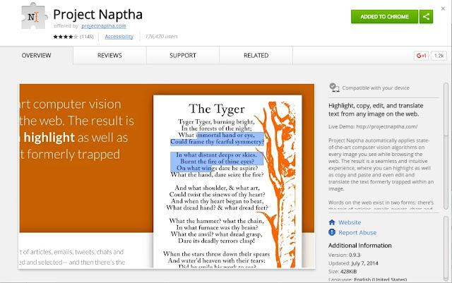 Plugin Project Naptha