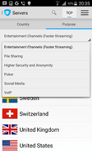 Ivacy VPN für Android screener