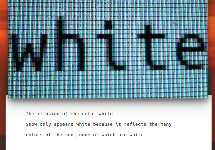 linux beach the white left part 1 the two meanings of white