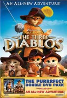 Gato De Botas Os Três Diablos - Full HD 1080p
