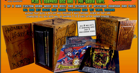 Order A Whiskeydick Box Set and It Includes A Pre-Sale For Vinyl Record