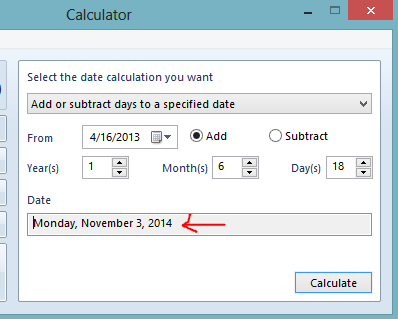 How to use calculator to add time