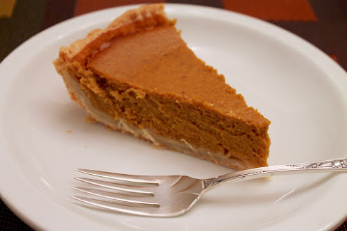 "Brandied ""Pumpkin"" Pie"