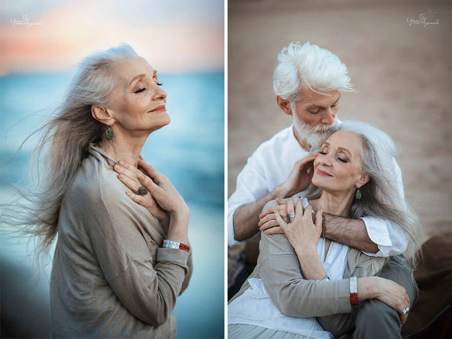Heartwarming Pictures Of Beautiful Elderly Couple Prove That Love Has No Age Limit