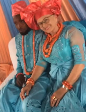 nigerian boy marries granny