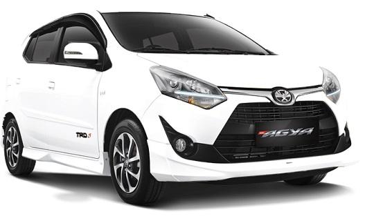 Spesifikasi Mesin Toyota Agya Tahun 2018