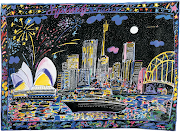 JANUARY inspiration is Sydney Night by Ken Done