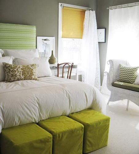 Mandeefofandee march 2011 - Green and grey bedroom ...