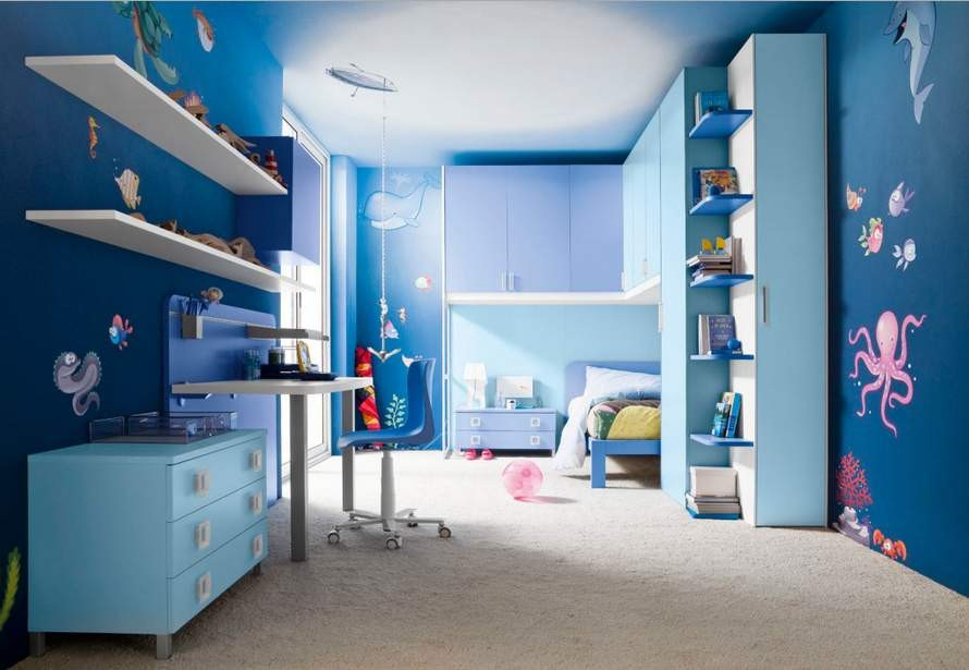 warna cat kamar tidur anak laki laki cowok 6