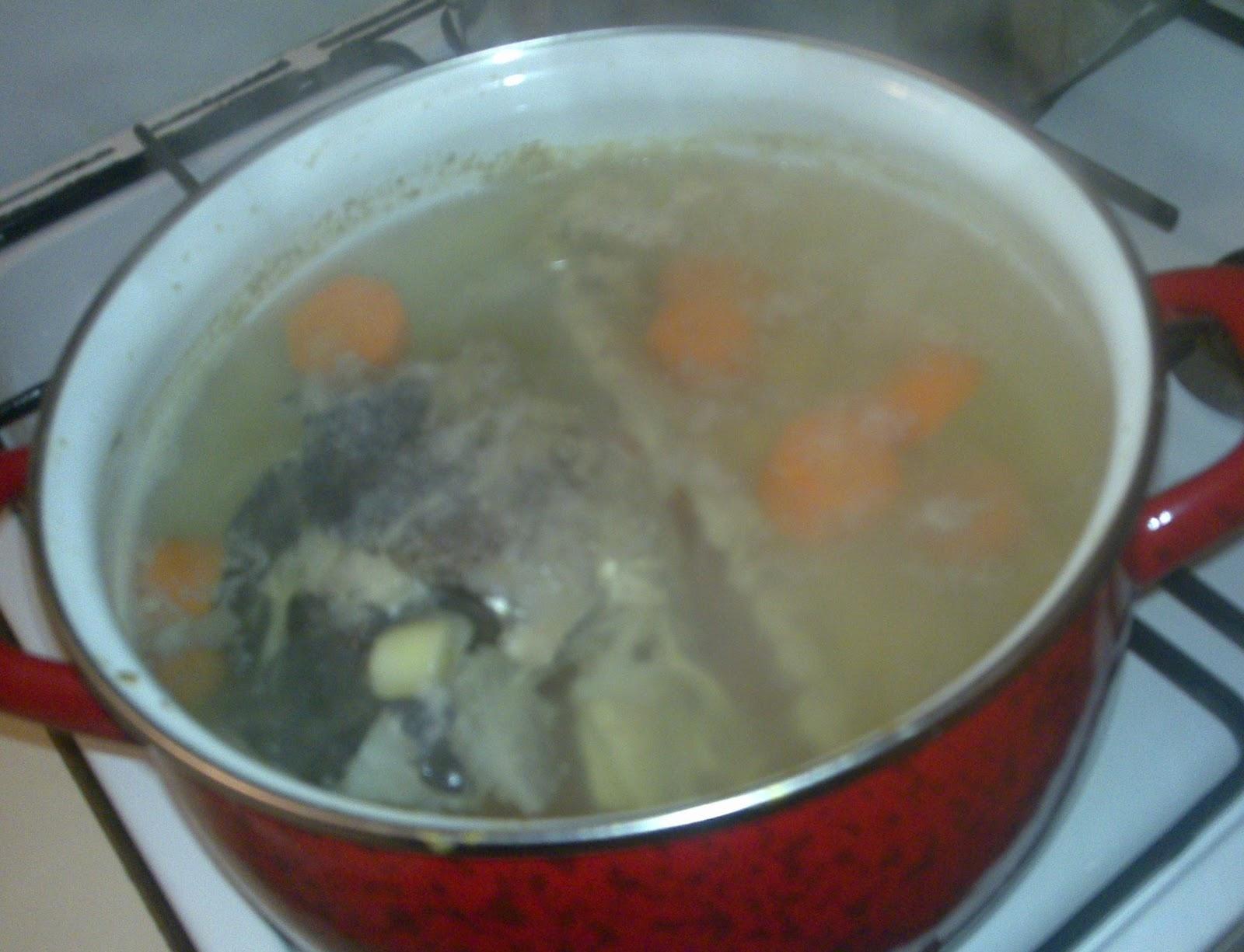 Cocinando para los mios : FUMET DE PESCADO