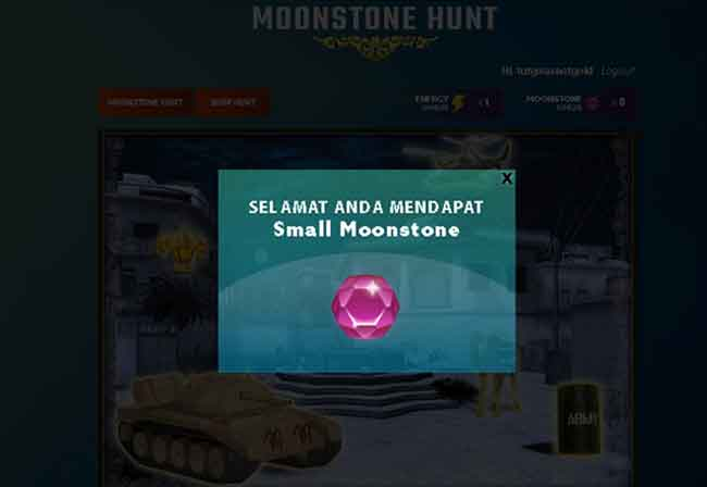 Event Moonstone Hunt PB Garena