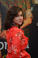 Mannara Chopra in deep neck Short red sleeveless dress Cute Beauty ~  Exclusive Celebrities Galleries 009.JPG