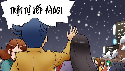 Kim Chi & Củ Cải (bộ mới) phần 296: Hơi ấm miễn phí