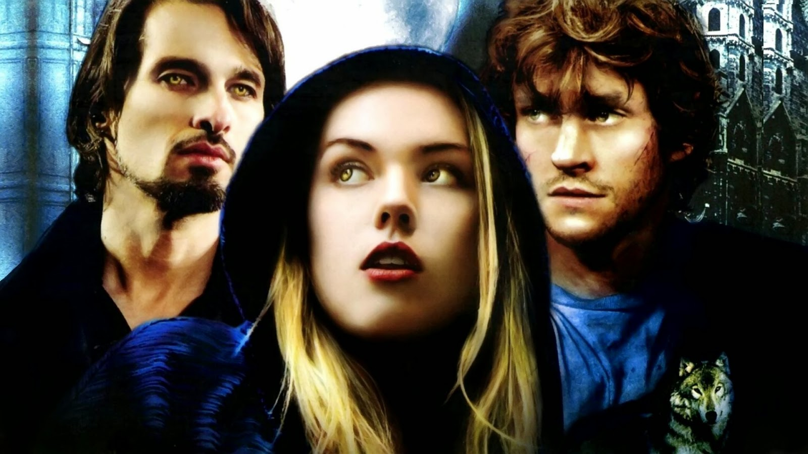 vampire und werwölfe serie